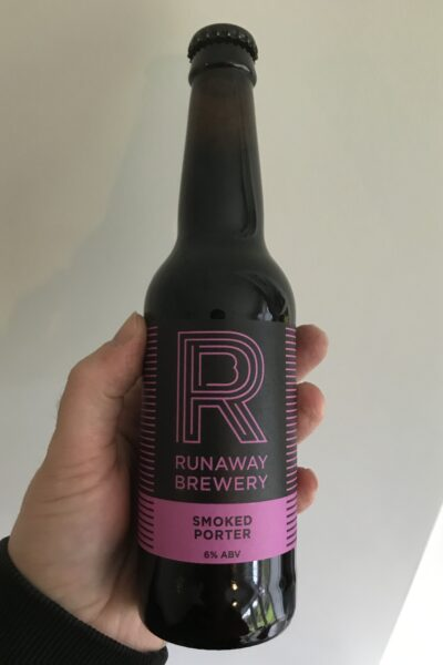 Smoked Porter by Runaway Brewery.