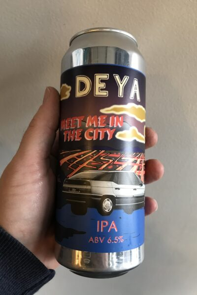 Meet Me In the City IPA by Deya Brewing Company.