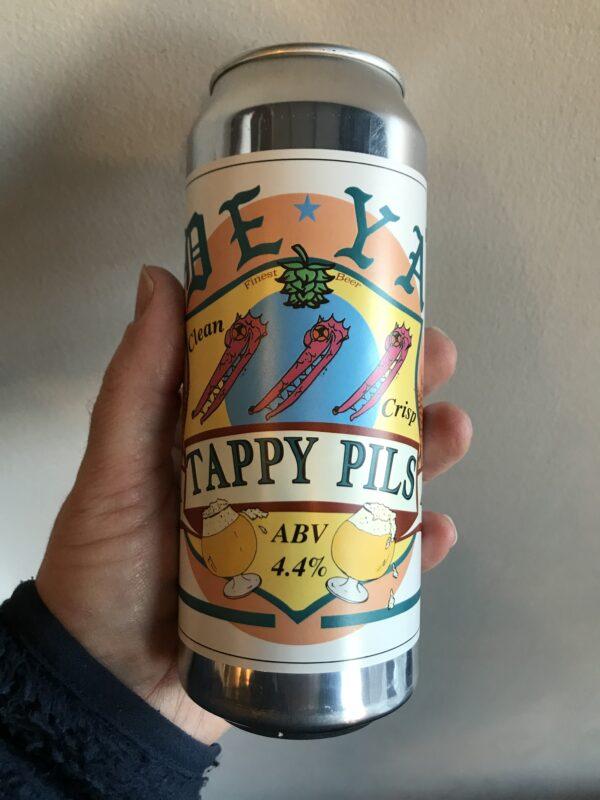 Tappy Pils by Deya Brewing Company.