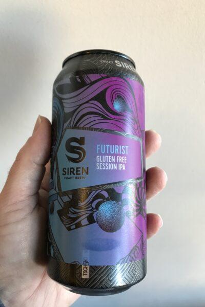 Futurist Session IPA by Siren Craft Brew.