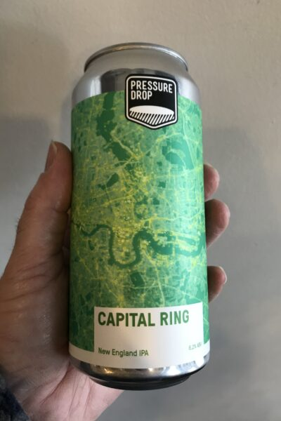 Capital Ring New England IPA by Pressure Drop Brewing.