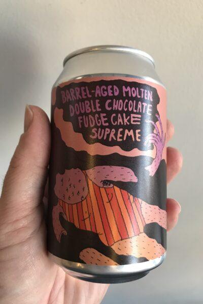 BA Molten Double Cohocolate Fudge Cake Supreme by LERVIG.