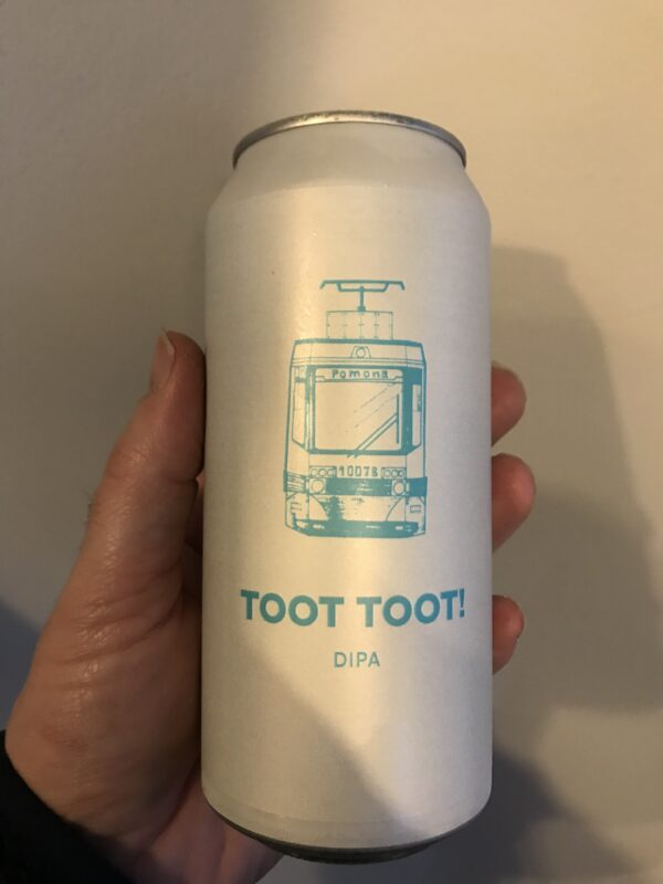 Toot Toot! DDH DIPA by Pomona Island Brew Co.