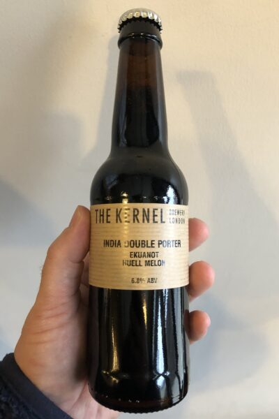 India Double Porter Ekuanot Huell melon by The Kernel Brewery.