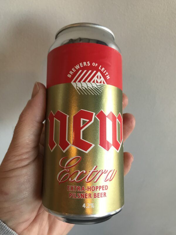 Extra Hopped Pilsner by Newbarns Brewery.