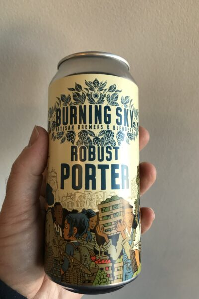 Robust Porter by Burning Sky Brewery.