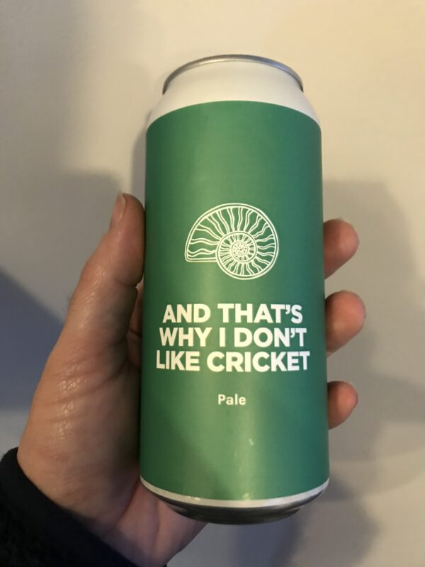 And That's Why I Don't Like Cricket American Pale Ale by Pomona Island Brew Co.