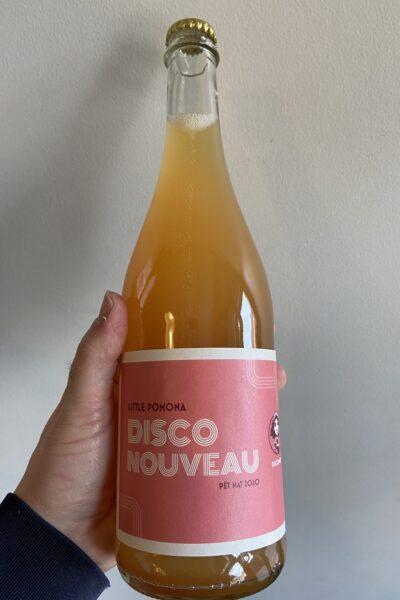 Disco Nouveau Pet Nat Cider by Little Pomona.