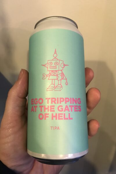 Ego Tripping a the gates of hell Triple IPA by Pomona Island Brew Co.