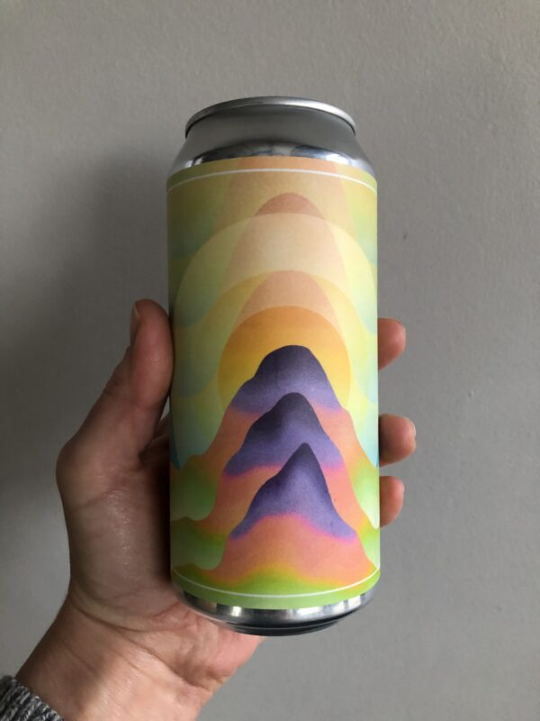 Double Dippy Doo Imperial New England IPA by Dry and Bitter Brewing Company.