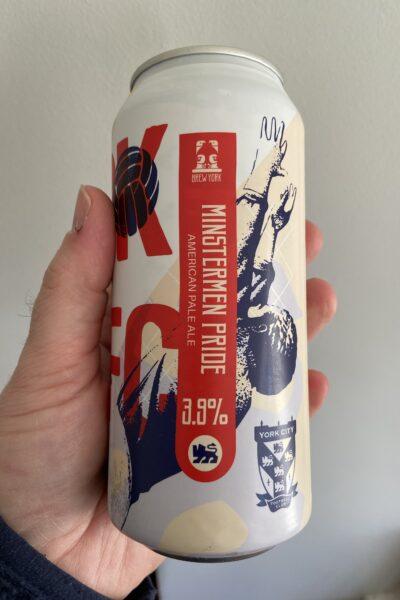Minstermen Pride American Pale Ale by Brew York.