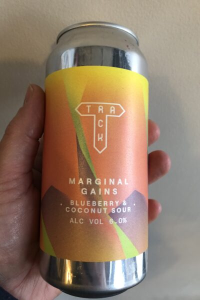 Marginal Gains Blueberry and Coconut Sour by Track Brewing Co.
