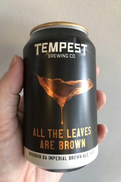 All the Leaves are Brown Bourbon BA Imperial Brown Ale by Tempest Brewing Co.