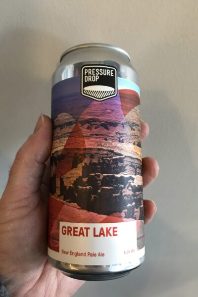 Great Lake New England Pale Ale by Pressure Drop Brewing.