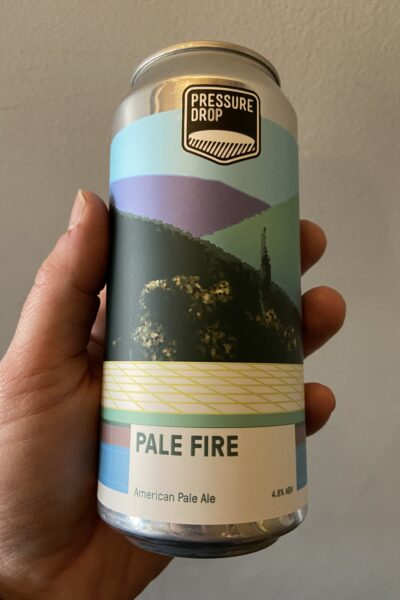 Pale Fire American Pale Ale by Pressure Drop Brewing.
