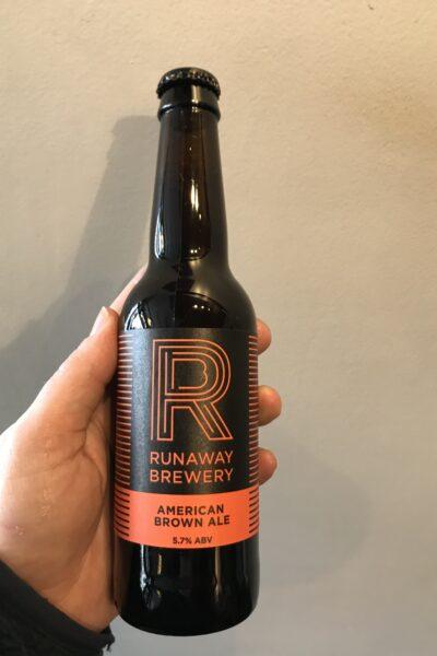 American Brown Ale by Runaway Brewery.