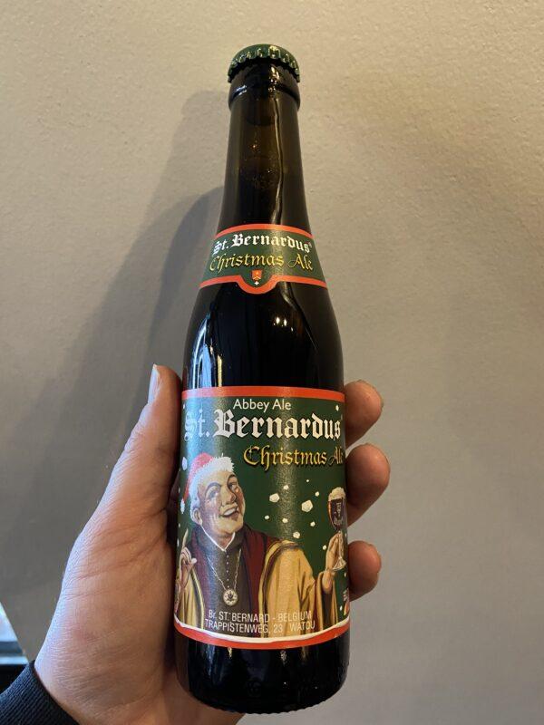 St Bernadus Noel Christmas Ale.