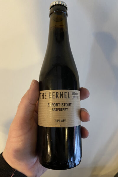 Raspberry Export Stout by The Kernel Brewery.