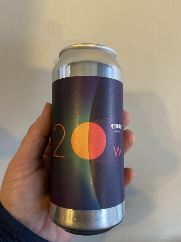 20 Watt Moon IPA by Verdant Brewing Co.