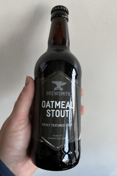 Oatmeal Stout by Brewsmith Beer.