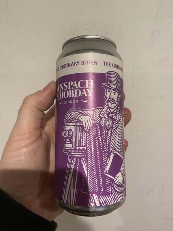 The Ordinary Bitter by Anspach and Hobday.