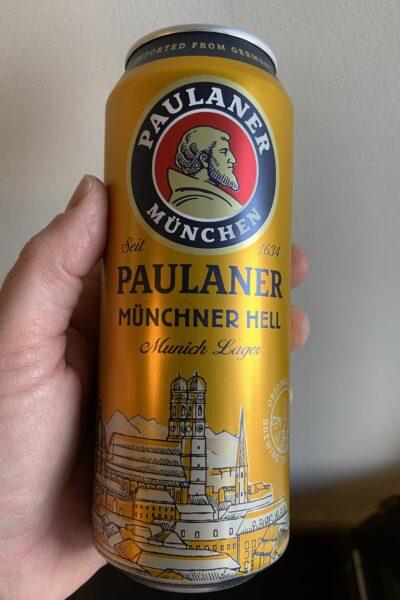 Paulaner Original Munchner Hell.