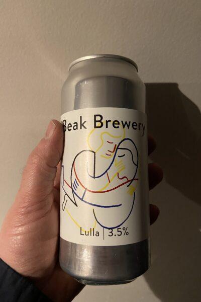 Lulla Table Beer by The Beak Brewery.