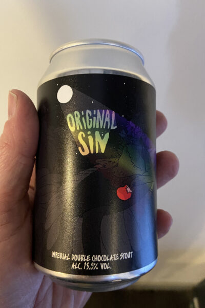 Original Sin Imperial Stout by LERVIG.