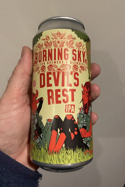 Devil's Rest IPA by Burning Sky Brewery.