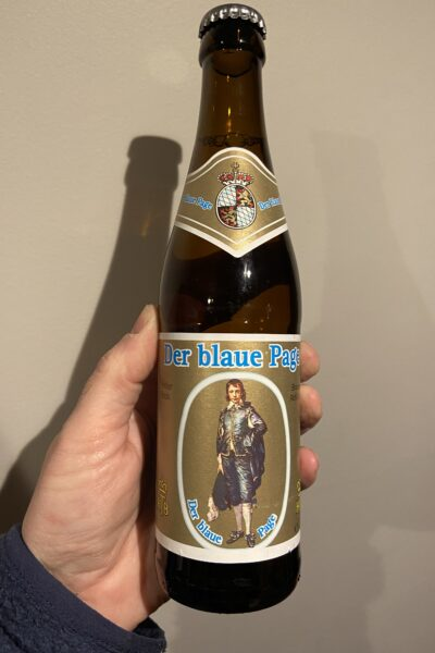 Der Blaue Page Heller Bock byHerzoglich Bayerisches Brauhaus Tegernsee.