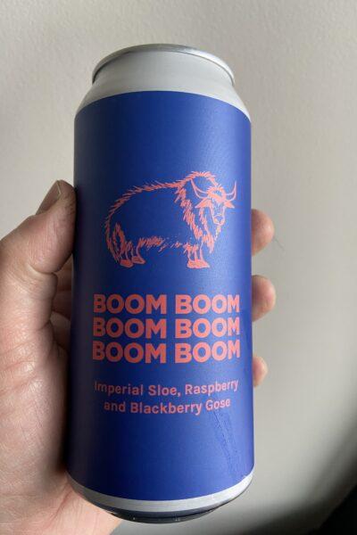 Boom Boom Boom Boom Boom Boom Imperial Gose by Pomona Island.
