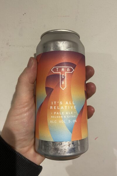 Its All Relative Pale Ale by Track Brewing Company.