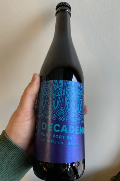 Ruby Port BA Decadence 2020 by Marble Beers.