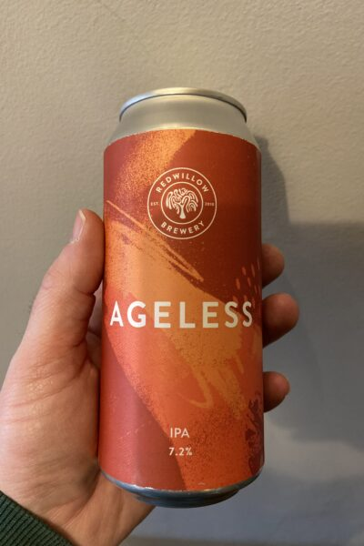 Ageless American IPA by RedWillow Brewery.