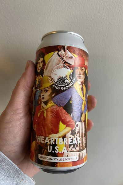 Heartbreak USA Brown Ale by Lost and Grounded Brewers.