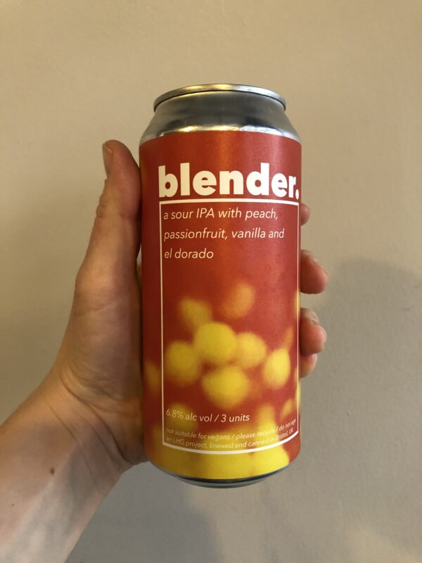 Blender II Sour by Left Handed Brewing.