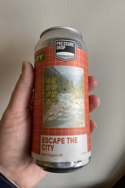 Escape the City IPA by Pressure Drop Brewing.