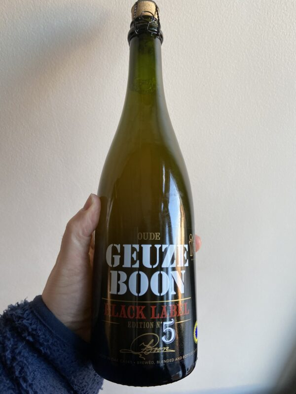 Oude Geuze Boon Black Label Edition N°5 by Brouwerij Boon.