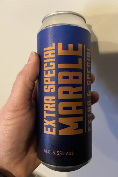 Extra Special Bitter by Marble Beers.