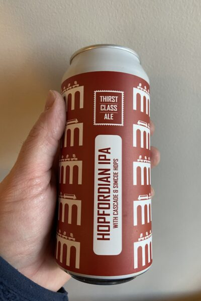 Hopfordian American IPA by Thirst Class Ale.