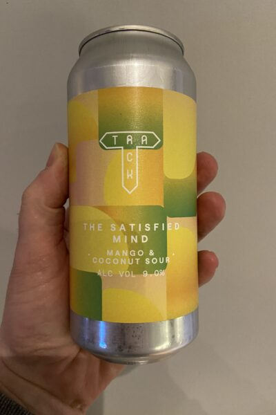 The Satisfied Mind Mango and Coconut Sour by Track Brewing Co.