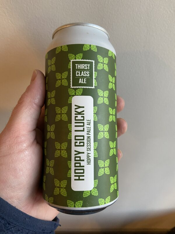Hoppy Go Lucky Pale Ale by Thirst Class Ale.