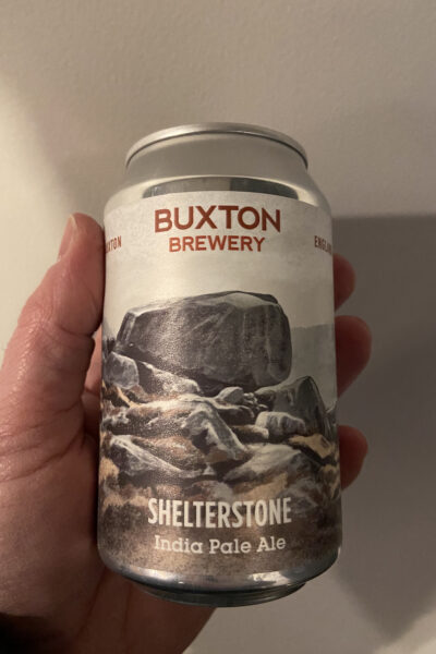 Shelterstone IPA by Buxton Brewery.