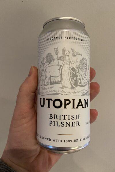 British Pilsner by Utopian Brewing.