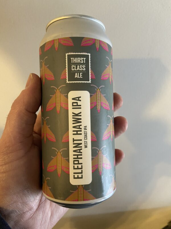 Elephant Hawk IPA by Thirst Class Ale.