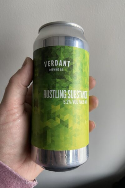 Rustling Substance New England Pale Ale by Verdant Brewing Co.