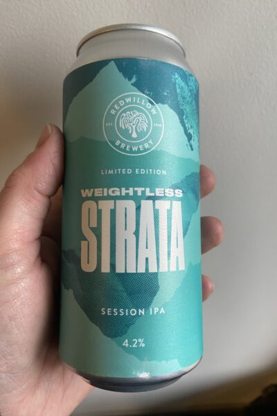 Weightless Strata Session IPA by RedWillow Brewery.