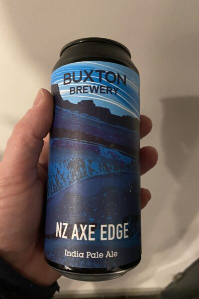 NZ Axe Edge IPA by Redwillow Brewery.
