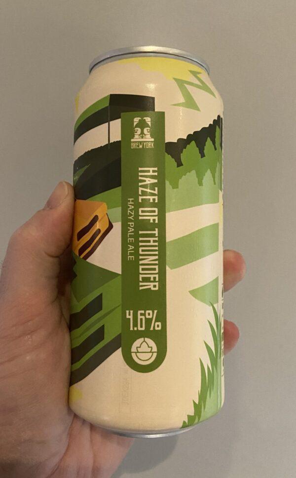 Haze Thunder American Pale Ale by Brew York.