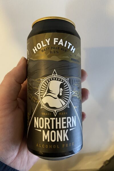 Holy Faith Hazy Pale by Northern Monk.
